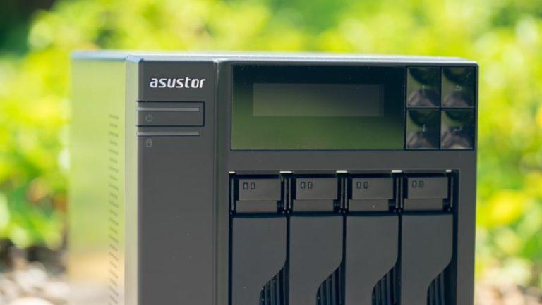 Das ASUSTOR AS6404T im Test, vier Bay NAS mit Intel Celeron J3455 Quad-Core