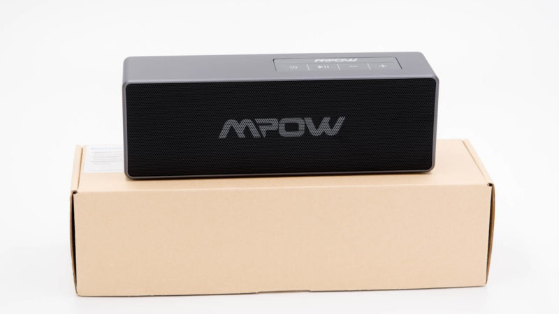 der mpow 20w bluetooth 4 1 lautsprecher im test techtest. Black Bedroom Furniture Sets. Home Design Ideas