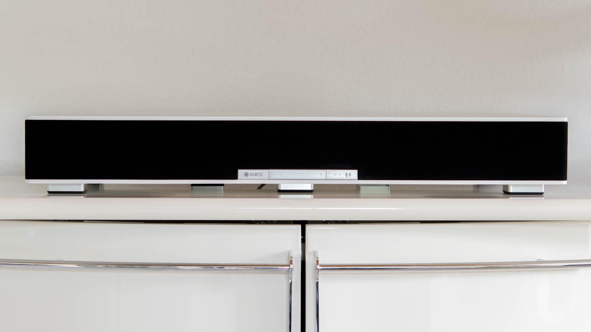 das teufel raumfeld sounddeck im test soundbar und. Black Bedroom Furniture Sets. Home Design Ideas