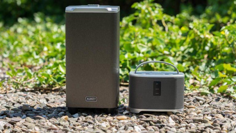 AUKEY SK-M39 Bass Station im Test, Bluetooth Lautsprecher und externer Subwoofer = super Klang?