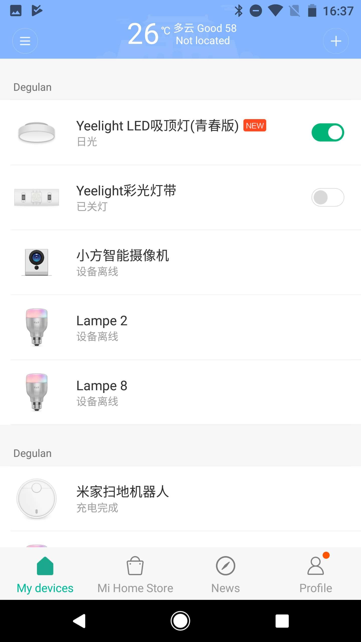 Xiaomi-Yeelight-Smart-LED-Ceiling-Light-16 Spannende Lampen Per App Steuern Dekorationen