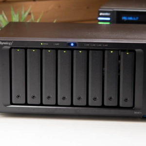 Das Synology DS1817+ im Test, 8 Bay NAS mit 10GBit Option