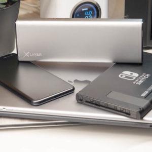 Die Xlayer Powerbank Plus MacBook im Test, die leistungsstärkste USB C Powerbank mit satten 45W Leistung fürs Apple MacBook, Dell XPS, ASUS ZenBook und Co.