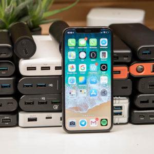 21x Powerbanks für das Apple iPhone X im Vergleich (von Anker, RAVPower, AUKEY, …..)