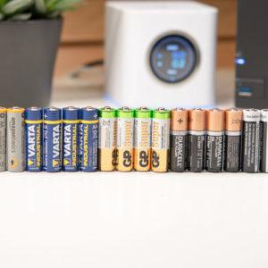 5x AA Batterien groß Packs im Vergleich (AmazonBasics, GP, Duracell, Varta, everActive)