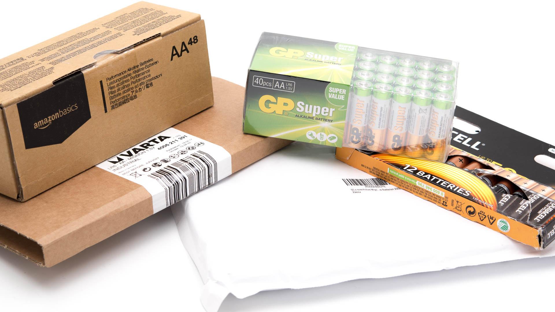 5x aa batterien gro packs im vergleich amazonbasics gp. Black Bedroom Furniture Sets. Home Design Ideas