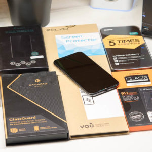 """8x Glas-Displayschutzfolien """"Panzerglasfolien"""" für das iPhone X im Test, welcher ist der beste Displayschutz für das iPhone X?"""