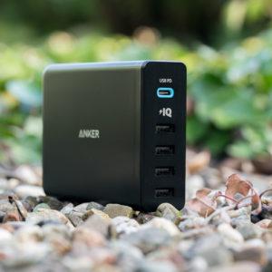 Das Anker PowerPort+ 5 Premium im Test, das beste Multiport USB Power Delivery Ladegerät auf dem Markt! (2017/2018)