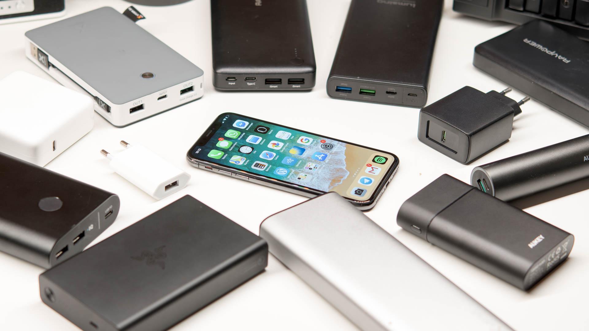 das apple iphone x schnellladen welche ladeger te und powerbanks eignen sich und worauf ist zu. Black Bedroom Furniture Sets. Home Design Ideas