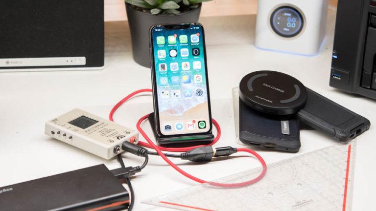 Hat eine Hülle einen negativen Einfluss auf das kabellose Laden des iPhone X?