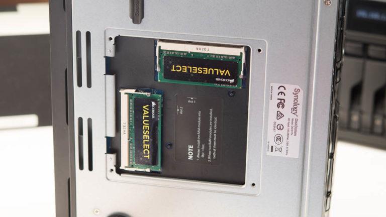 Synology RAM Aufrüsten, was bringt es? (Synology DS1817+)