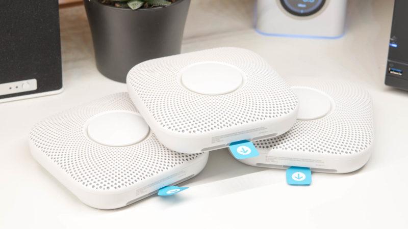 der nest protect 2 generation rauch und co melder im test sinvolle und teure smart sicherheit. Black Bedroom Furniture Sets. Home Design Ideas