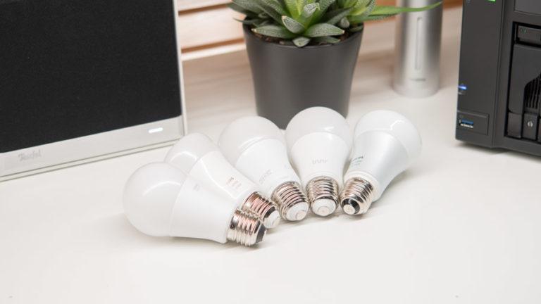 Welche ist die beste alternative RGB Glühbirne für das Philips Hue System 2018/2017? (Philips, Osram, Innr und Ikea im Vergleich)
