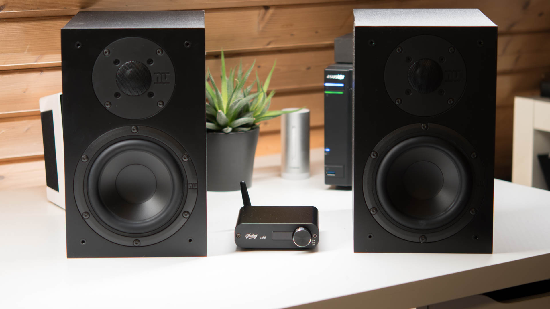 der sabaj audio a2 digital verst rker im test techtest. Black Bedroom Furniture Sets. Home Design Ideas