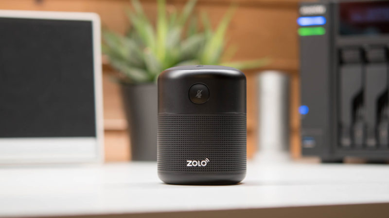 der zolo halo z6000 smart speaker im test g nstig guter. Black Bedroom Furniture Sets. Home Design Ideas