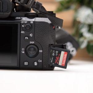 Die SanDisk Extreme PRO 256 GB SDXC Speicherkarte im Test