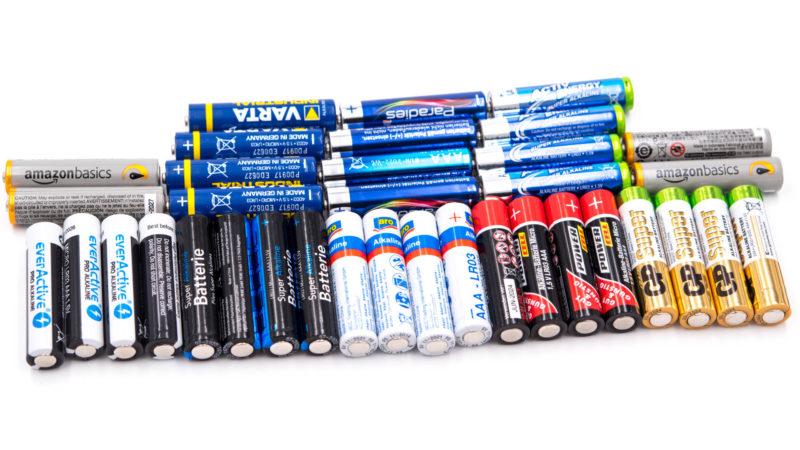 9x aaa batterien im vergleich aldi amazonbasics aro