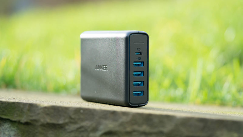 das anker powerport 5 port usb c ladeger t im test. Black Bedroom Furniture Sets. Home Design Ideas