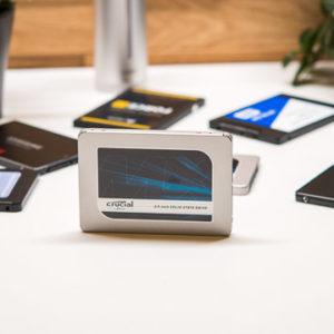 Die Crucial MX500 im Test, die beste günstige SATA SSD?