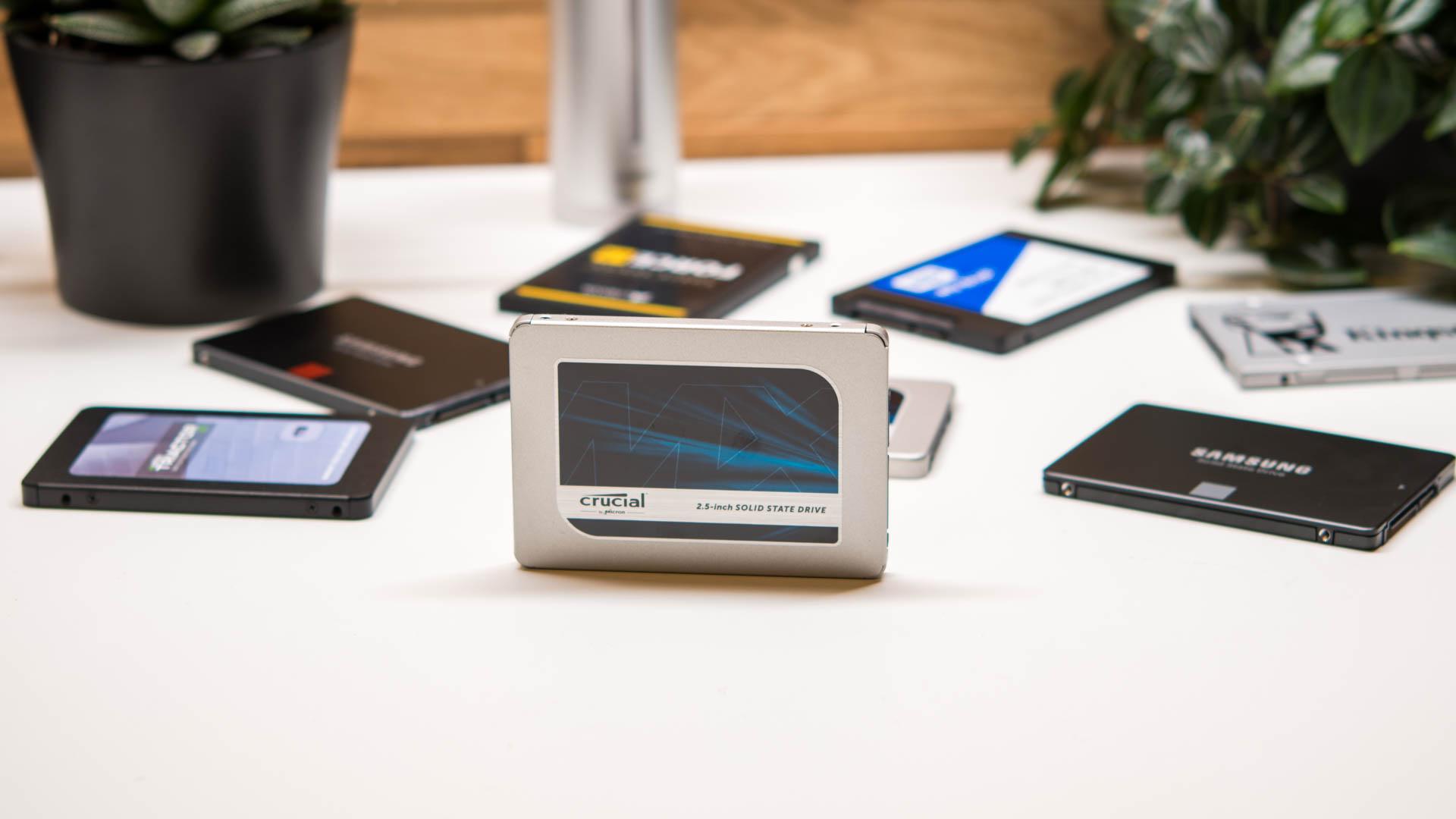 Die Crucial MX500 im Test, die beste günstige SATA SSD