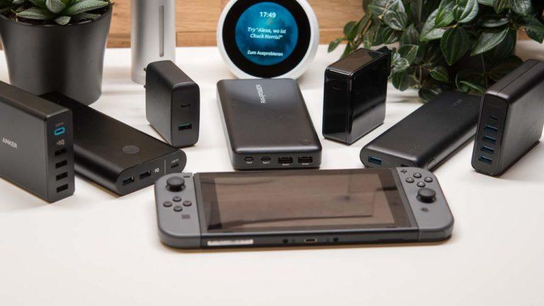 Die besten Powerbanks/Ladegeräte für die Nintendo Switch 2018, was gibt es beim Kauf zu beachten?