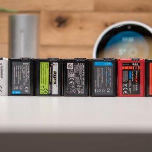 9x NP-FW50 Akkus für Sony Kameras im Vergleich, welcher ist der beste Akku für eine Sony Kamera?