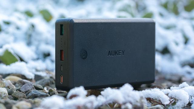 Die AUKEY PB-Y7 USB C Powerbank 26500mAh im Test (USB Power Delivery und Quick Charge 3.0!)