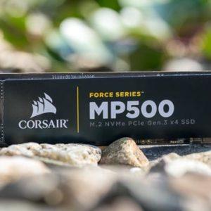 Die Corsair Force Series MP500 NVME SSD im Test