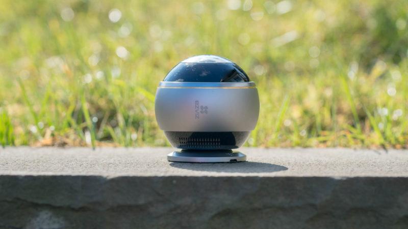 die ezviz mini pano wlan kamera im test eine 360grad. Black Bedroom Furniture Sets. Home Design Ideas