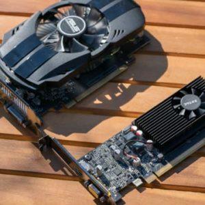 Die GTX 1050 und GT 1030 Grafikkarten im Test, günstig und gut?