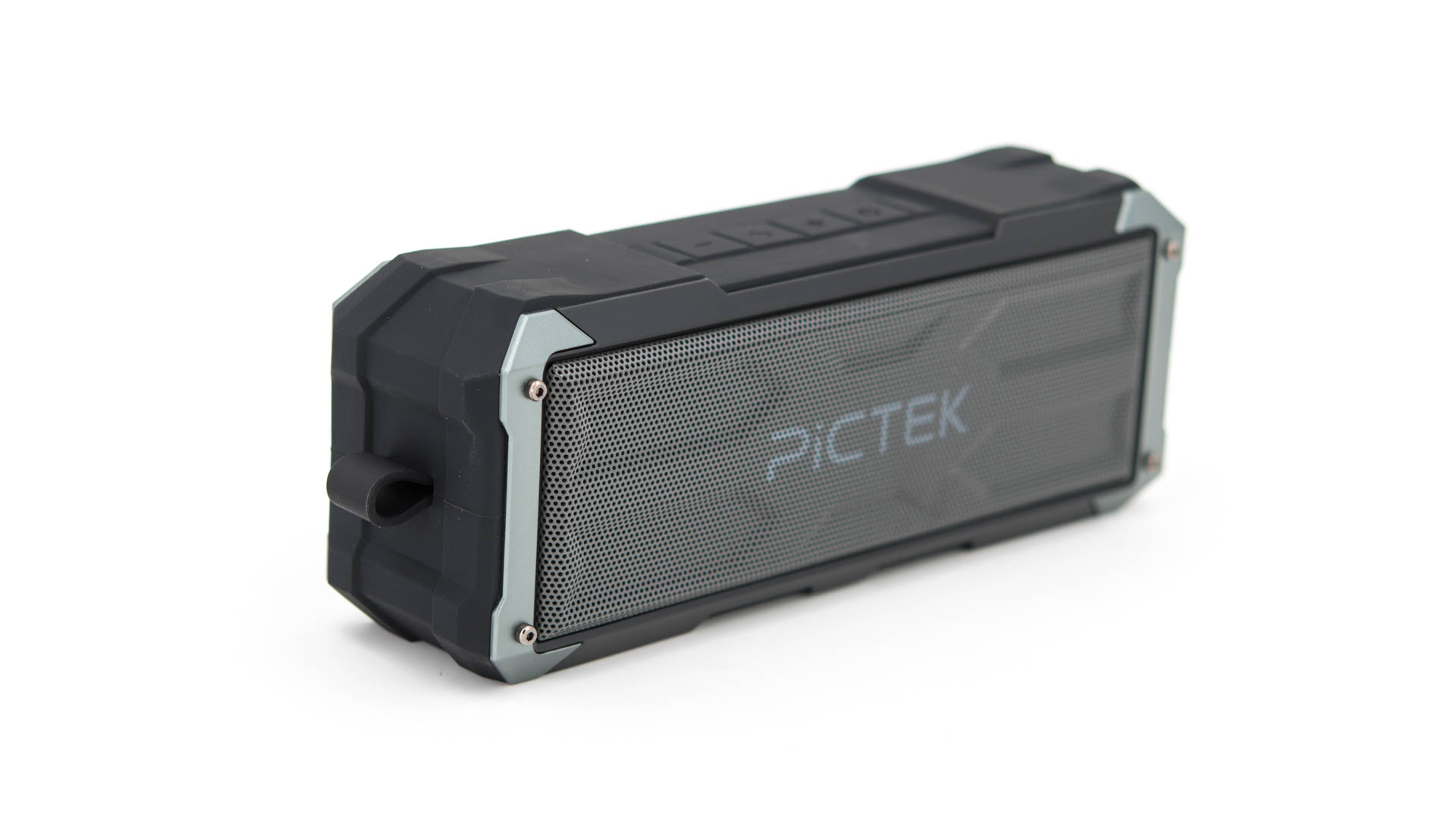 die pictek 20w bomber bluetooth musik box im test techtest. Black Bedroom Furniture Sets. Home Design Ideas
