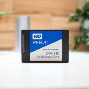 Die Western Digital WD Blue 3D NAND SSD im Test