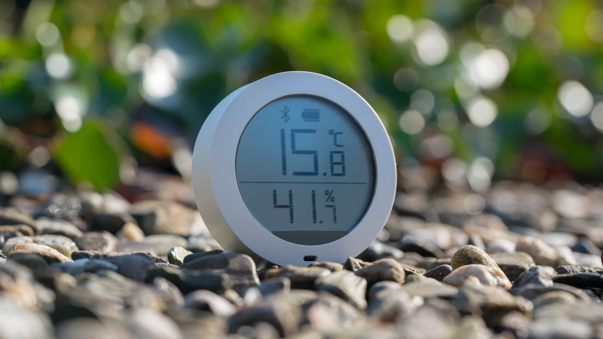g nstiges smart home thermometer der xiaomi temperature humidity monitor im test techtest. Black Bedroom Furniture Sets. Home Design Ideas
