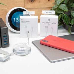 """Achtung gefälschte Apple Lightning auf USB C Kabel im Umlauf! Oder """"Hilfe warum funktioniert das Schnellladen meines iPhone X nicht"""""""