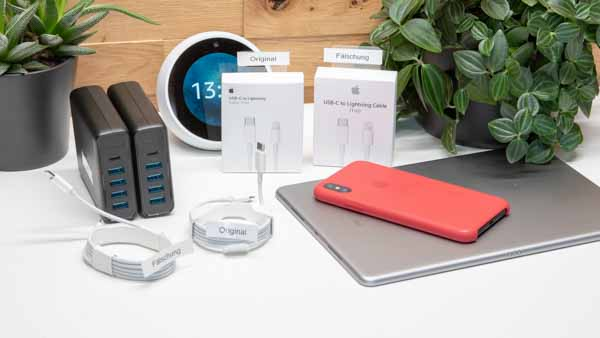 achtung gef lschte apple lightning auf usb c kabel im. Black Bedroom Furniture Sets. Home Design Ideas
