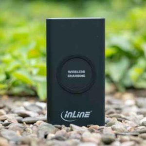 Die InLine Qi-Plate Powerbank im Test, QI Powerbank fürs S9 oder iPhone X