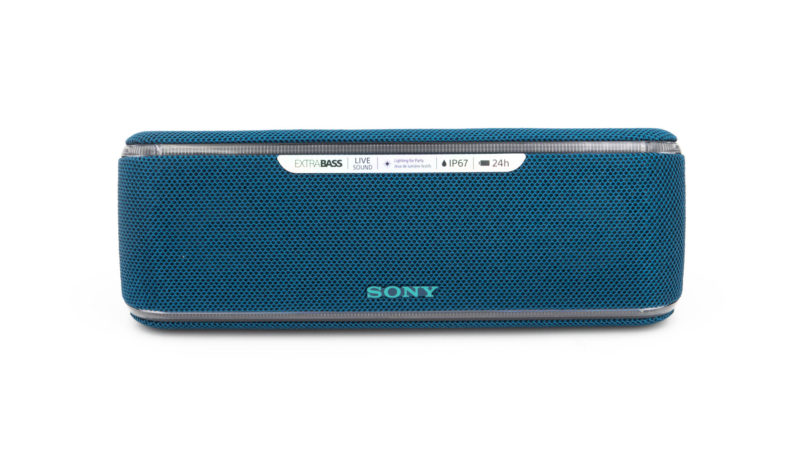 der sony srs xb41 im test der party bluetooth. Black Bedroom Furniture Sets. Home Design Ideas