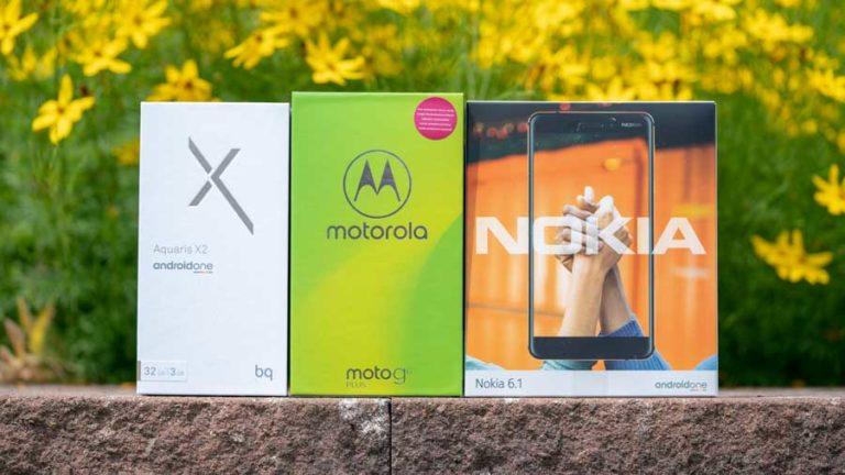 Die Könige der Mittelklasse, BQ Aquaris X2 vs. Moto G6 Plus vs. Nokia 6 2018