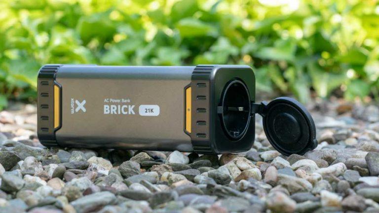 Die Xtorm AL480 Brick 21000 im Test, Powerbank mit Steckdose!