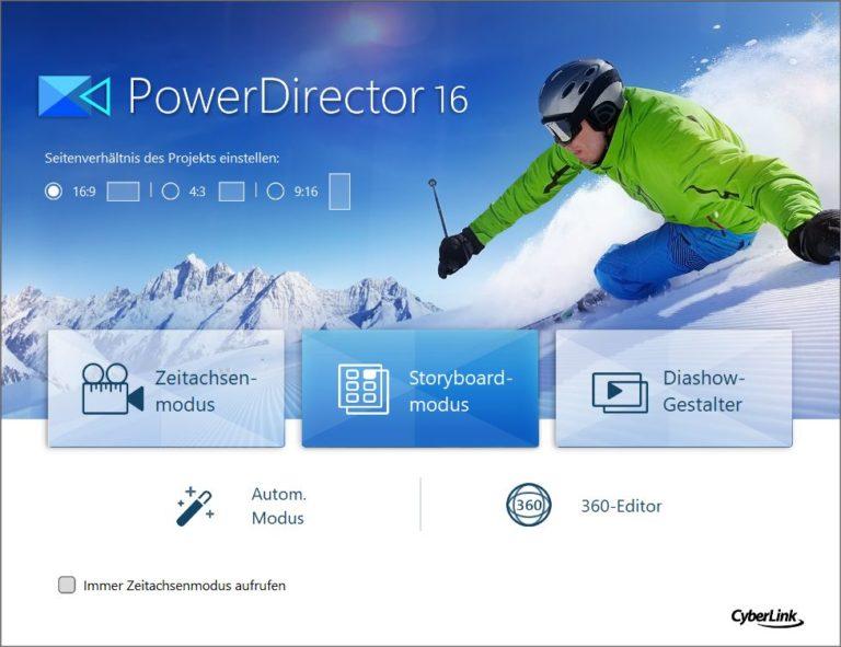 CyberLink PowerDirector 16 Ultra im Test