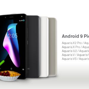 BQ kündigt Android Pie (9.0) Updates an