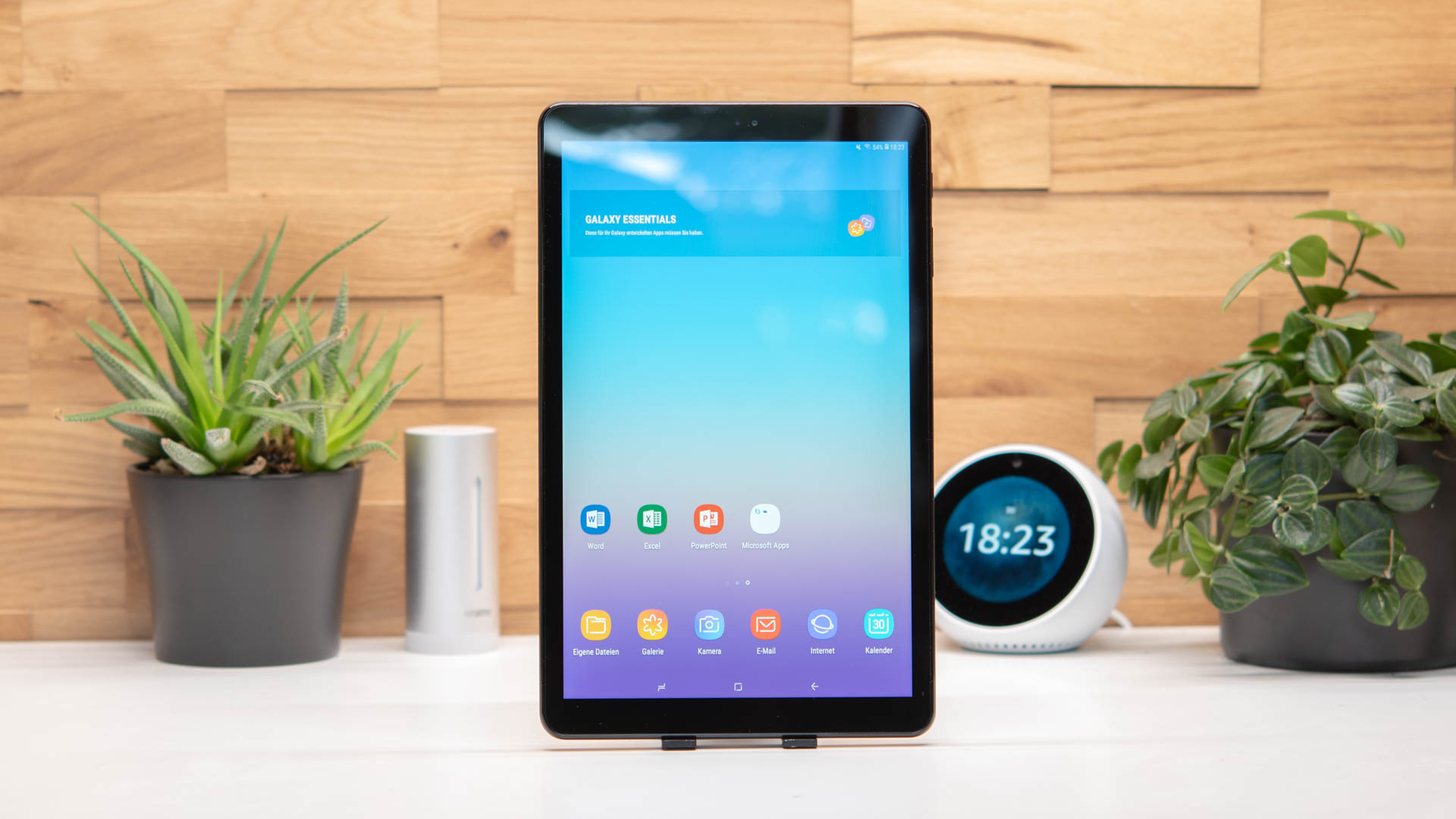das samsung galaxy tab a 10 5 2018 im test samsungs bestes allround tablet techtest. Black Bedroom Furniture Sets. Home Design Ideas