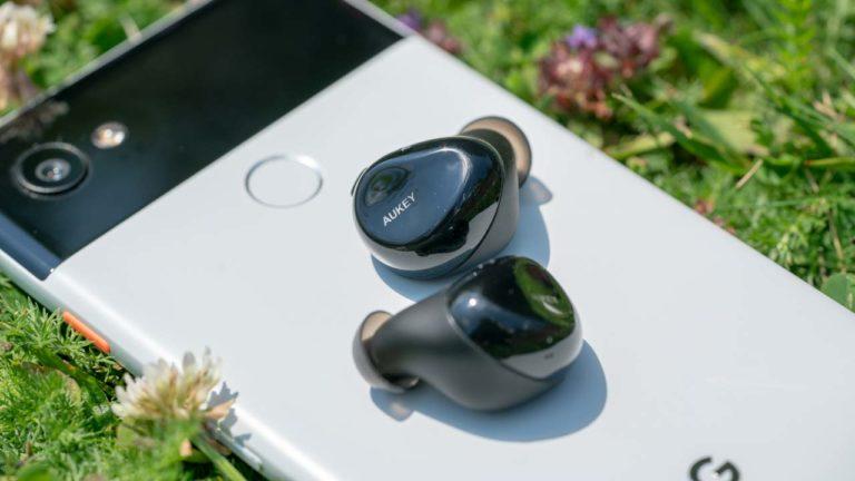 Die AUKEY EP-T1 im Test, die besten komplett Kabellosen Ohrhörer unter 50€