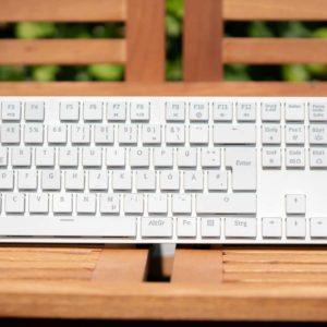 Die Tesoro Gram XS im Test, die beste mechanische Chiclet Tastatur