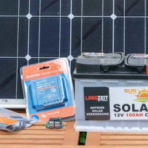 Eine kleine Solar-Anlage selbst Bauen, Anleitung und Tipps