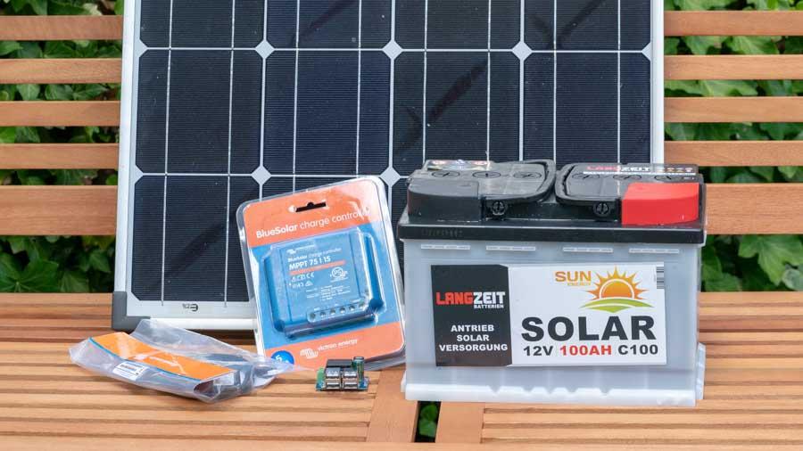 eine kleine solar anlage selbst bauen anleitung und tipps techtest. Black Bedroom Furniture Sets. Home Design Ideas