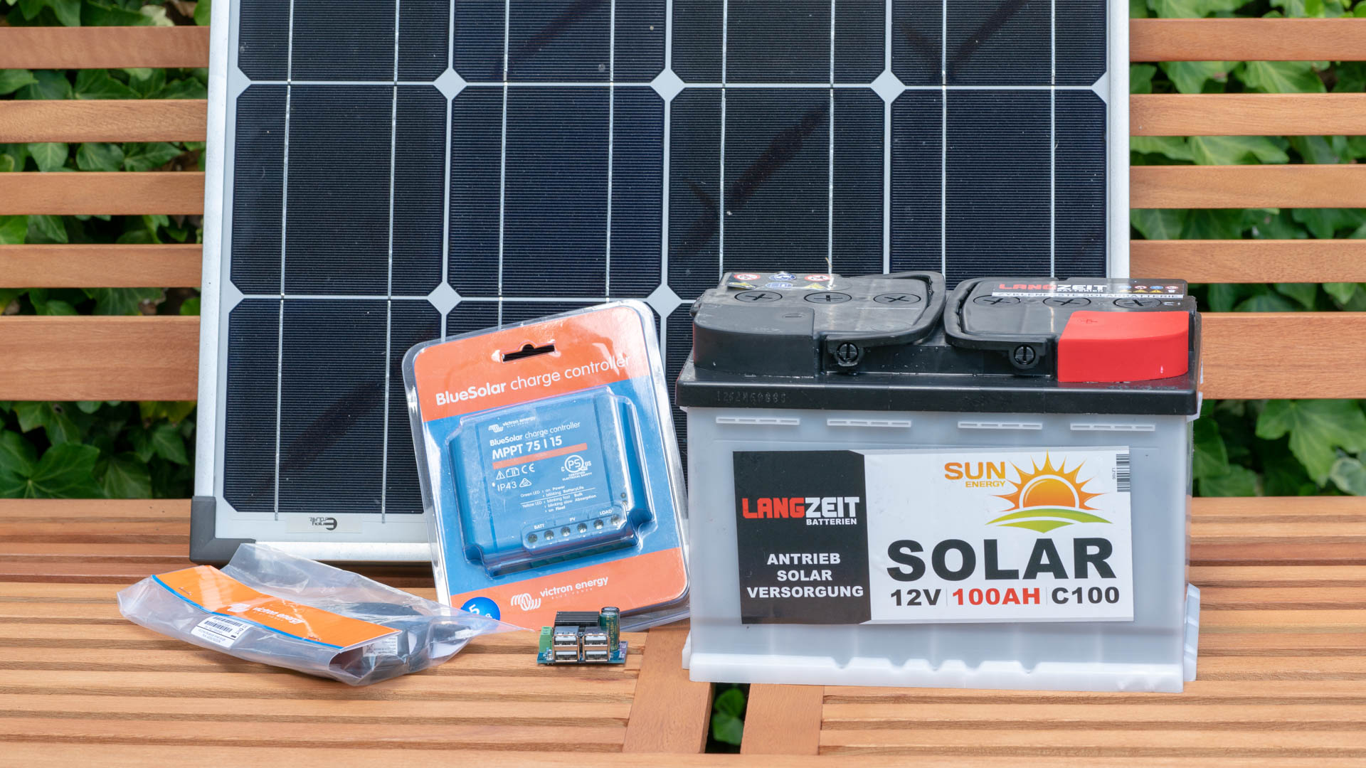 Auto Kühlschrank Solar : Eine kleine solar anlage selbst bauen anleitung und tipps techtest
