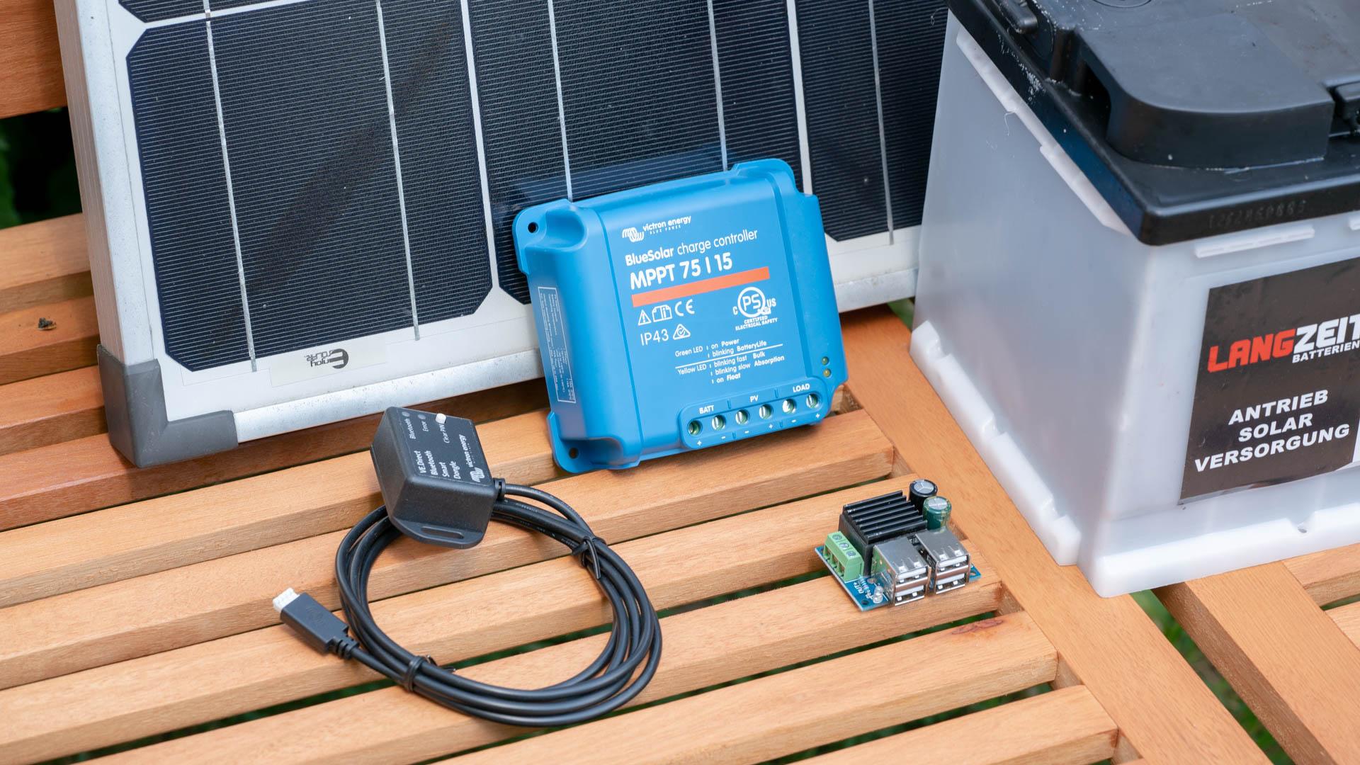 eine kleine solar-anlage selbst bauen, anleitung und tipps - techtest