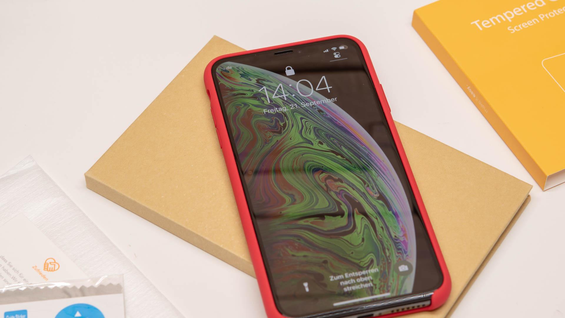 8x Displayschützer Für Das Iphone Xs Xs Max Im Vergleich Welcher