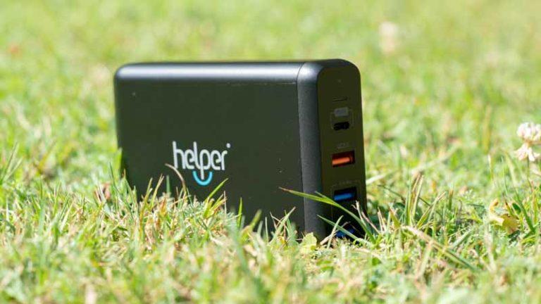 Das Helperinc 4 Port 75W USB Ladegerät mit Quick Charge und USB PD im Test
